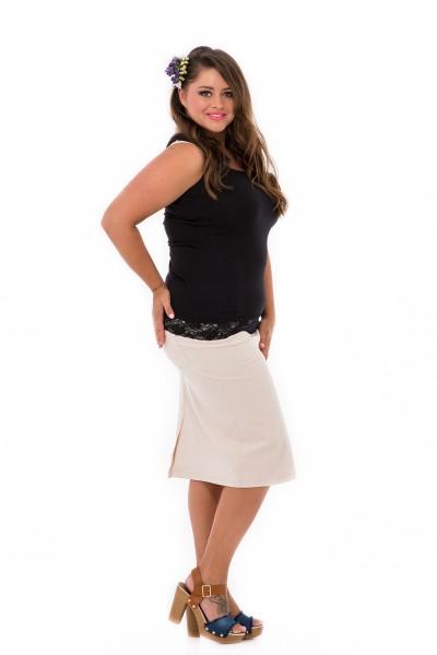elastická sukňa pre moletky