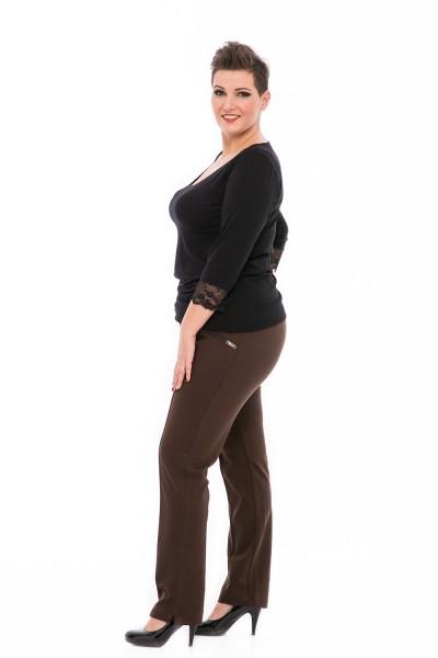 hrubé nohavice pre moletky