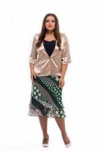 bodkovaná sukňa pre moletky
